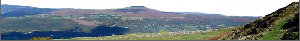 The Sugar Loaf in the Black mountains